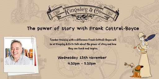 The power of story with Frank Cottrell-Boyce