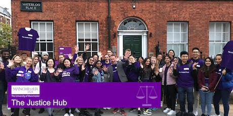 University of Manchester Justice Hub Launch tickets