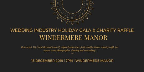 Wedding Industry Holiday Gala & Charity Raffle tickets