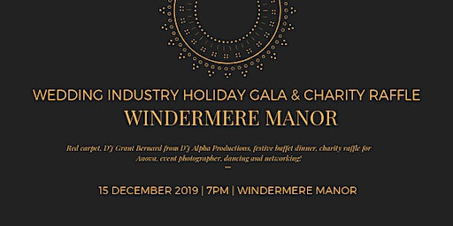 Wedding Industry Holiday Gala & Charity Raffle