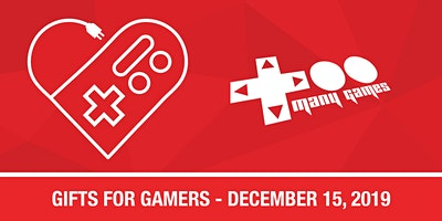 TooManyGames - Gifts for Gamers 2019