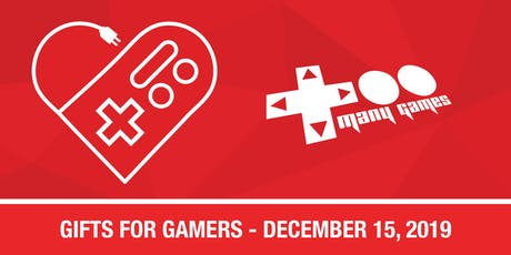 TooManyGames - Gifts for Gamers 2019 tickets