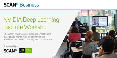 NVIDIA Fundamentals of Deep Learning for Computer Vision by Scan Business tickets