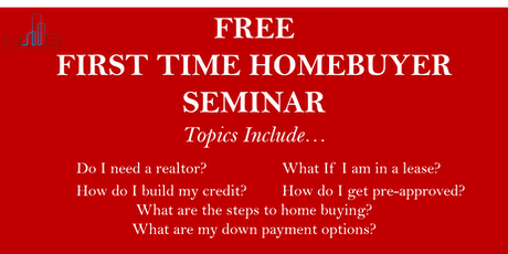 FREE FIRST-TIME HOME BUYERS SEMINAR -Houston,Texas tickets
