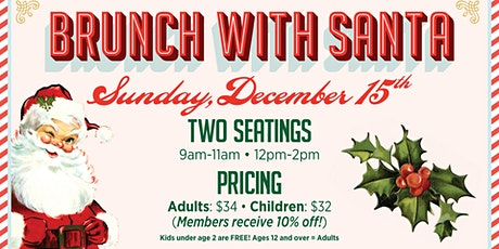 Brunch With Santa at Aviator Sports tickets
