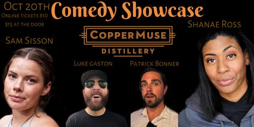 Costume Comedy Show at CopperMuse Distillery in Fort Collins