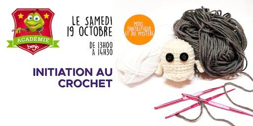 Atelier initiation au crochet