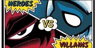 Heroes vs Villians Holiday Club and a Halloween Party for Children