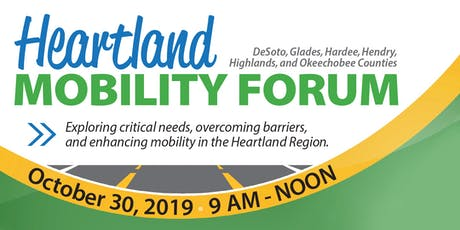 Heartland Mobility Forum 2019 - Lake Placid, FL tickets