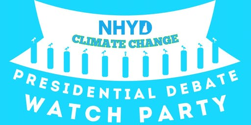 GNYD Climate Change Presidential Debate Watch Party