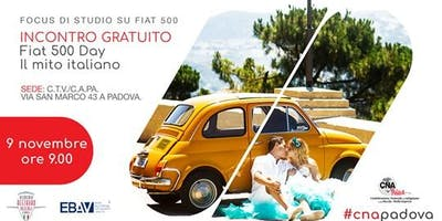 Fiat 500 Day!! Il mito italiano.