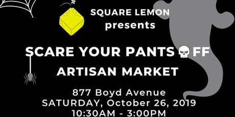 Scare Your Pants Off Craft and Art Market tickets