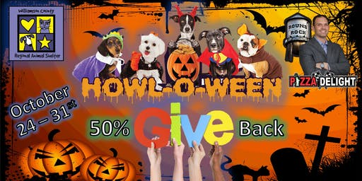 Pizza Delight's Howl-O-Week of Giving to WCRAS
