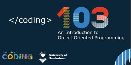 Coding 103 - An introduction to Object Oriented Programming tickets