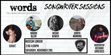 Songwriter Sessions (Words Fest) tickets