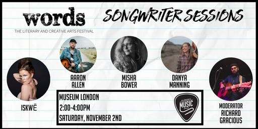 Songwriter Sessions (Words Fest)