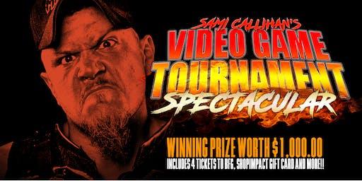 Sami Callihan's Video Game Tournament Spectacular
