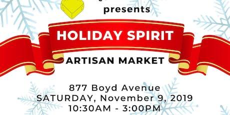 Holiday Spirit Craft and Art Market tickets