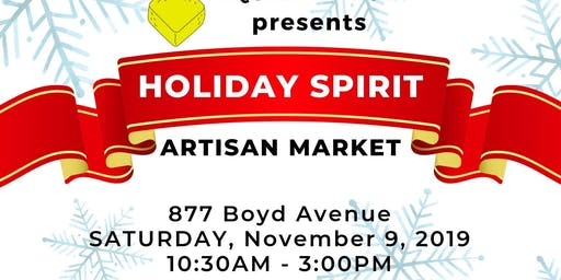 Holiday Spirit Craft and Art Market