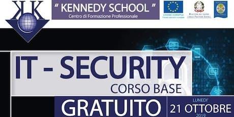 It Security - corso base gratuito  biglietti
