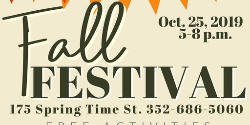 FREE Fall Festival @ Faith Baptist Church
