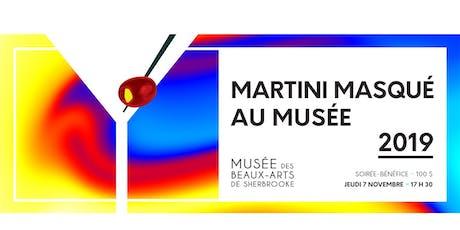 Martini masqué au Musée billets