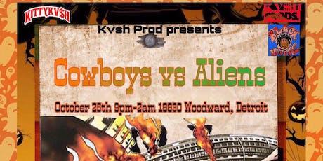 Cowboys vs Aliens tickets