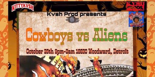 Cowboys vs Aliens