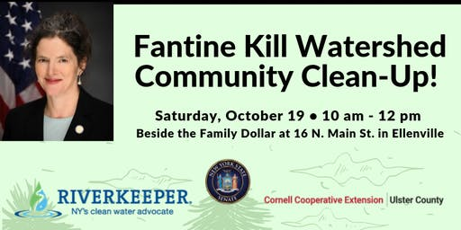 Fantine Kill Watershed Community Clean-Up!