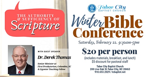 Tabor City Baptist Church Winter Bible Conference