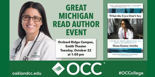Great Michigan Read Author Event with Dr. Mona Hanna-Attisha