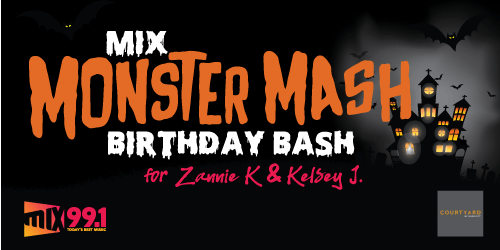 Mix Monster Mash Birthday Bash