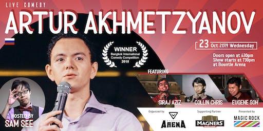 Live Comedy Night, Stand-up by Artur Akhmetzyanov, Siraj, Collin & Eugene