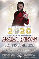 New Years Eve 2020 with Arabo Ispiryan! tickets