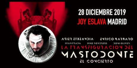 Mastodonte en la Joy Eslava entradas