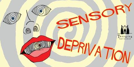 Sensory Deprivation Blind Tasting tickets