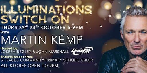 Martin Kemp to switch-on Springfields Festive Lights