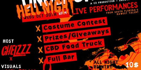 RFTU! *HellNight Edition* Showcase & Industry Mixer - Ft Lauderdale tickets