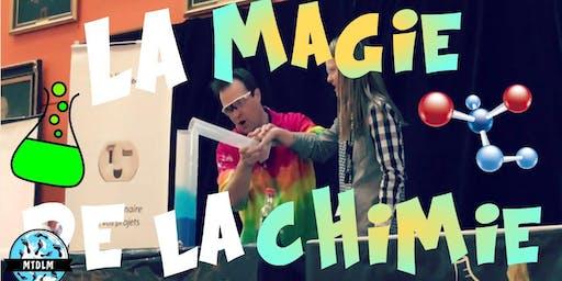 Spectacle de Yannick Bergeron : La Magie de la Chimie