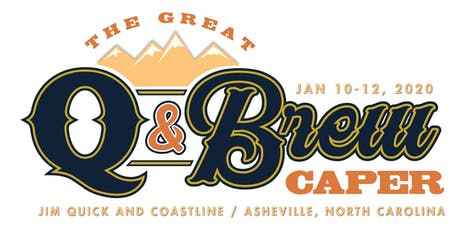 The Great Q & Brew Caper tickets