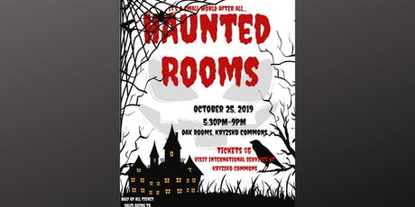 Haunted Rooms tickets