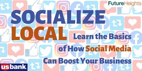 SOCIALIZE LOCAL: November 8th Social Media Workshop for Small Businesses tickets