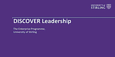 DISCOVER Leadership tickets