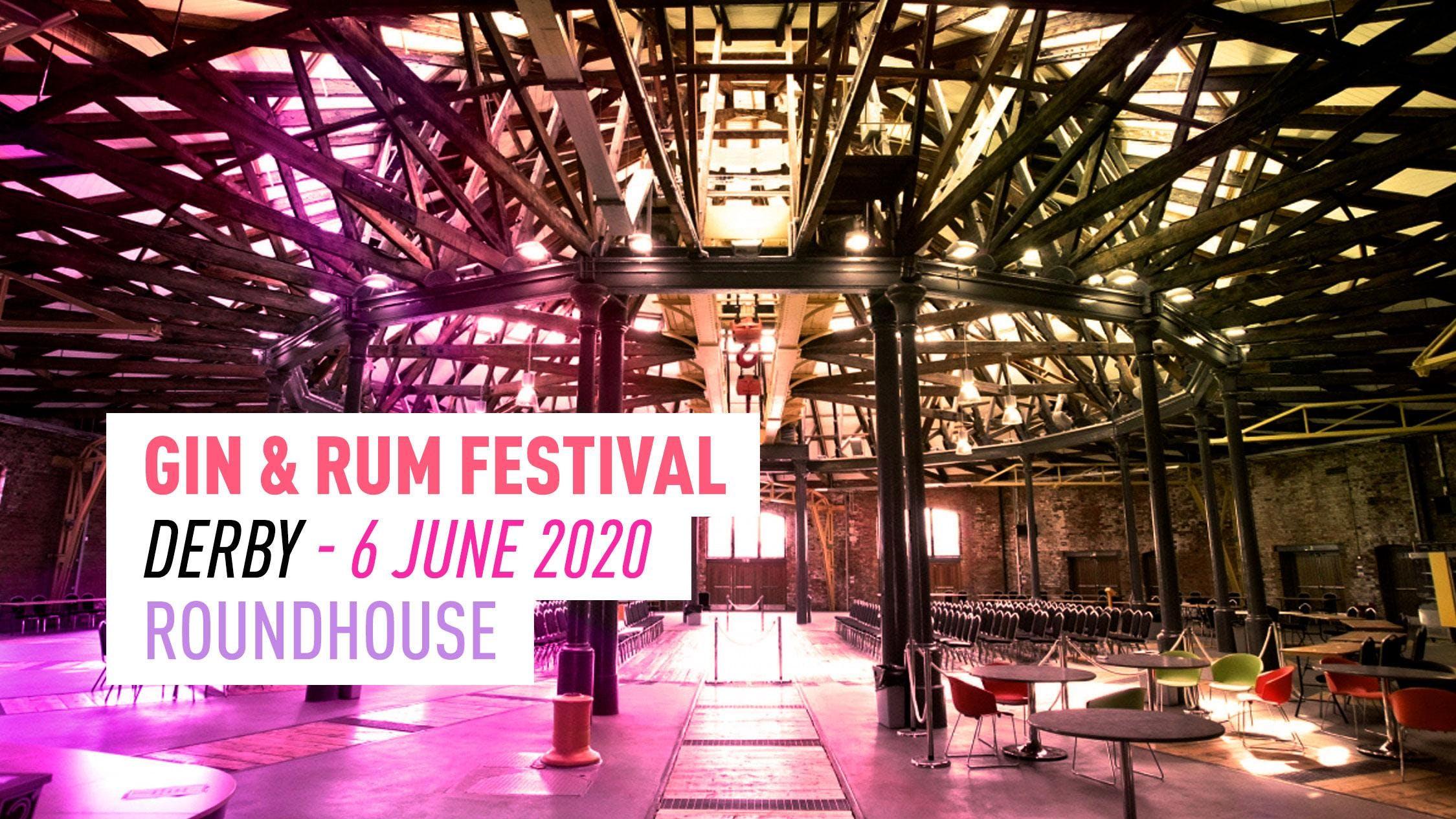 Derby Festival 2020.The Gin Rum Festival Derby 2020