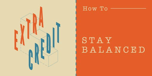 Extra Credit: How To Stay Balanced with Barre3