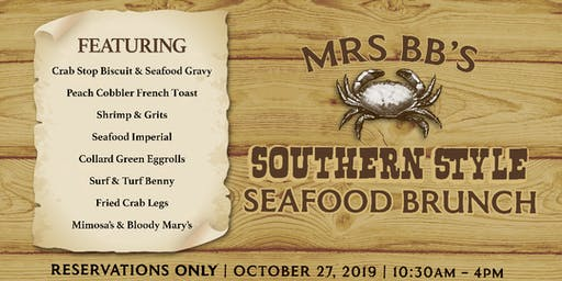 MrsBB's Southern Style Seafood Brunch w/Chef Willie Jackson