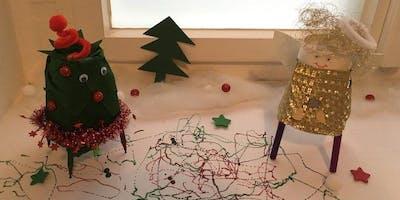 WeihnachtsWORKSHOP: Making – Weihnachtliche Drawbots bauen