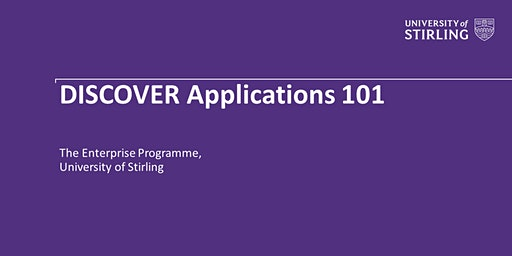 DISCOVER Applications 101