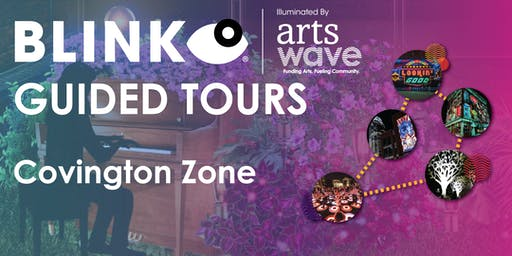 BLINK Projection Mapping & Art Installation Tour - Covington Zone
