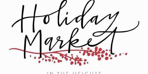 Holiday Market in the Heights